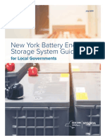 battery storage guidebook