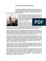 El Legado de Francisco Bolognesi