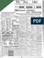 1893 - New York NY Sun 1893 Jun-Nov Grayscale - 1356 -[Logo Used by Gann]