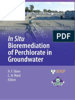 Bioremediation of Perchlorate in Groundwater
