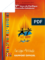 2011 Pacific Games Official Report