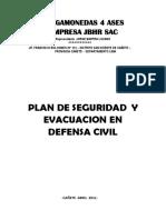 PLAN DE SEGURIDAD DE DEFENSA CIVIL