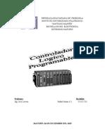 Trabajo Controlador Logico Programable PLC Electiva 4.Docx