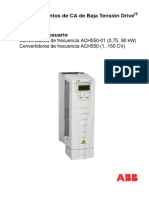 Manual ACS550 01