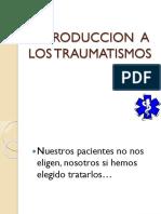 0 Introduccion a Los Traumatismos