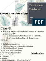 Case Discussion - Carbohydrate