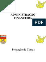 3 ADM MIL  II -  (ADM FIN) (PRESTAÇÃO DE CONTAS) 2019