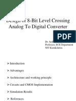 8-bit level crossing  ADC