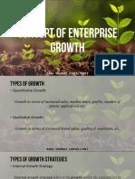 Concept of Enterprise Growth