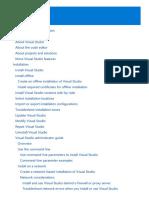 VS IDE Manual