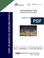 OMV PWS (Basis of Design)