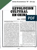 04017057 BROUE - La Revolución Cultural en China ENTERO