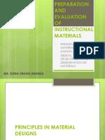 preparationandevaluationofinstructionmaterials-140626083141-phpapp01