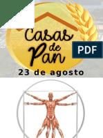 1er Encuentro de Casas de Pan 23 de Agosto de 2018