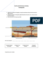 Earth and Life Science Activity- Stratigraphy