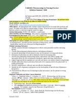 Syllabus for AP PHARM N3365 600 601 Summer 2018 Revised3