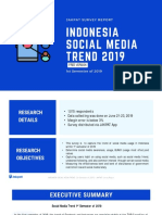 PDF Report Indonesia Social Media Trend 1st Sem of 2019 - Jakpat Survey Report Free Version 20611
