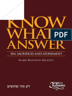 Know what to answer