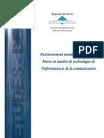 Positionnement mondial et régional du Maroc en matièr de TIC