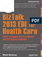 BizTalk 2013 EDI for Health Care- HIPAA-Compliant 834 (Enrollment) and 837 (Claims) Solutions