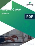 Jee Main Syllabus 2020-1-64