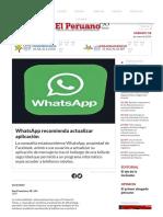 WhatsApp recomienda actualizar aplicación.pdf