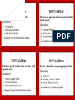 IELTS Topic Cards 5