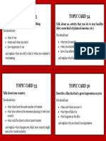 IELTS Topic Cards 10