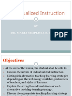 TL Lesson 15 Individualized Instruction