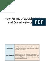 New forms of Social Media
