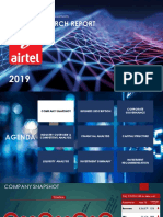 Credit Research Report- Bharti Airtel