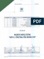 Pci-pr-64-08 Procedure Magnetic Particle Examination