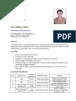 Shahbaz CV