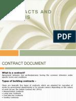 Principles of contract, tender,tender notice.