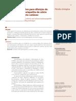 v2 Conector Alternativo Para Diluicao de Anestesico e Hidroxiapatita de Calcio Para Preenchimento Cutaneo