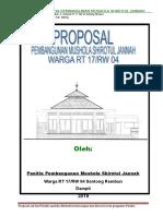 Proposal Musholla Shirotul Jannah