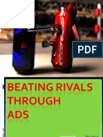 Beating Rivals Through Ads