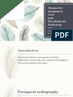 Diagnostic Imaging in Oral Intech