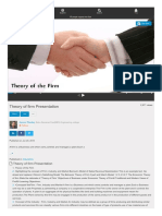 Theory of Firm Presentation