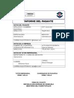 Informe de Pasantías (IUTPEC)