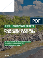 The Rufiji Hydropower Project