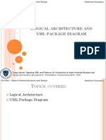 2. Logical Architecture Diagram and UML Package Diagram