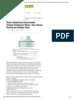 Materi Administrasi Infrastruktur Jaringan Konfigurasi Router, Vlan, Konsep Routing Dan Routing Static _ Informasi Pendidikan