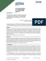 Análise comparativa das propriedades elétricas de camadas e multicamadas de VOx depositadas por pulverização catódica para aplicação em bolômetros