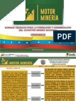 Propuesta Norma de Catastro Minero