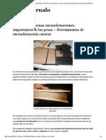 Cómo Hacer Buenas Encuadernaciones_ Importancia de Las Pesas – Herramientas de Encuadernación Caseras _ Encuadérnalo