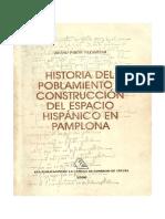 Historia del Poblamiento y Construcción del Espacio Hispánico en Pamplona
