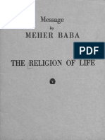 Meher Baba - The Religion of Life