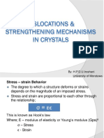 05.Dislocations & Strengthening Mechanisms in Crystals