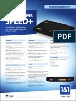 1und1 DSL Produktdatenblatt HomeServer Speed Plus